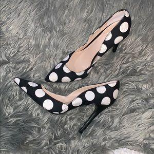 Charles by Charles David polka dot heels